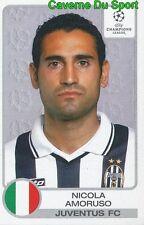 149 NICOLA AMORUSO ITALIA JUVENTUS STICKER PANINI CHAMPIONS LEAGUE 2001-2002