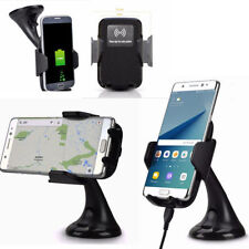 Air Vent Mobile Phone Holders with Wireless Charging