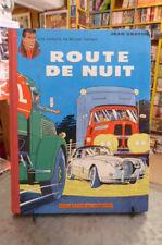 Michel Vaillant, Route de nuit, J. Graton 1962 Lombard