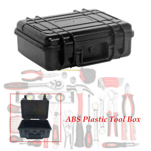 ABS Plastic Tool Instrument Storage Case Outdoor Tactical Safety Box Waterproof