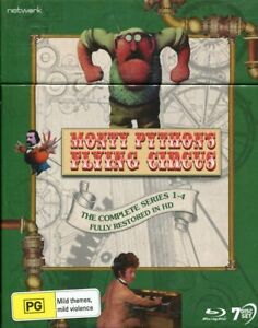 Monty Python's Flying Circus: The Complete Series Restored in HD Blu-ray NEW