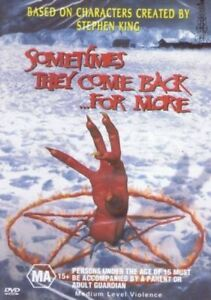 Sometimes They Come Back For More (DVD, 2009) Stephen King Movie_Horror