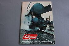 X217 LILIPUT Train catalogue Ho Hoe 1975? 42 pages 29,7*20,5 cm F