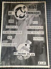 Fanzine 1983 Le Démoniaque Numéro 1 Punk Français Histerix