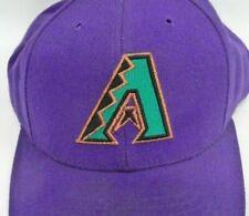 Vintage Arizona Diamondback Baseball Cap Hat Snapback Purple Deadstock Logo