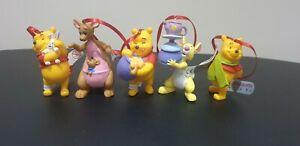 Bullyland Disney Winnie the Pooh Christmas Decorations - Brand New -Free Postage