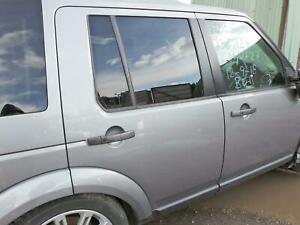 LAND ROVER DISCOVERY 4 RIGHT OFF SIDE REAR DOOR IN LRC949 GREY 2009 - 2016