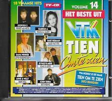 V/A - Het Beste uit tien om te zien VOL. 14 CD Album 18TR 1994 BELGIUM Will Tura
