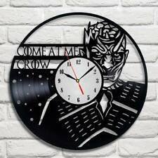GOT Come at me crow vinyl record wall clock home art shop office move game