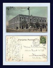 MEXICO TORREON BANOS DE LAS DELICIAS POSTED 1910 TO MISS E WOODRUFF, KANSAS CITY