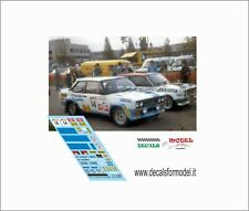 DECALS FIAT 131 ABARTH TOIVONEN RALLY 1000 LAGHI 1979