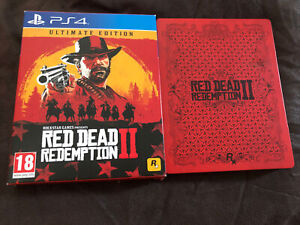 Red Dead Redemption II Ultimate Edition (PS4) Steelbook Case