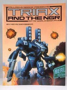 Signed: Signed Rifts Triax and the NGR World Book 5 Kevin Siembieda Palladium Au