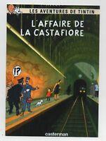Carte Postale Tintin - L'AFFAIRE DE LA CASTAFIORE - Pastiche éd. Czarlitz 2017