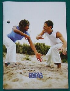 Bedienungsanleitung Nokia 8210 Handy Mobiltelefon
