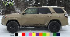 Toyota 4Runner Vinyl Decal Sticker Graphics TRD Sport Side Door x2 ANY COLOR 023