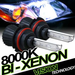 8000K Hid Bi-Xenon 9004/Hb1 Hi/Lo Beam Headlights Headlamps Conversion Kit Vd4