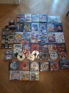 Lot 64 Jeux + GB Grise (Mario Pokemon Naruto Tetris) Nintendo GB N64 Wii Ps4...