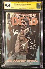 WALKING DEAD THE GOVERNOR SPECIAL 1 CGC SS 9.4 SIGNED X3 KIRKMAN ADLARD MOORE