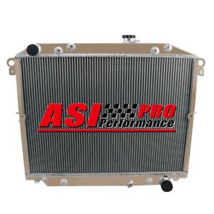 4 ROW Radiator For 98-07 Lexus LX470 Toyota Land Cruiser HDJ100R 4.7L V8 PRO