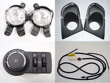 Genuine OEM Fog lamp light Cover Switch Harness Full Set 13~2016+ Chevrolet Trax
