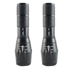 2x 8000 LM T6 CREE XML Flashlight Torch 7Modes Tactical Light lampe de poche