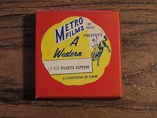 Vintage METRO FILMS 8mm Film A WESTERN T-4 The Bandits Capture Cartoon ASCO