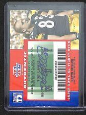 2007 Topps Super Bowl XL Ticket Stub Autograph #SB-HM Heath Miller
