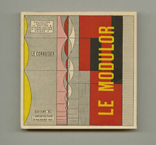 1951 Le Corbusier LE MODULOR Human Scale Measure Design Modern Architecture Bk