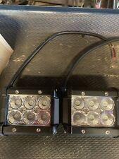 Pair 4INCH 36W LED WORK LIGHT OFFROAD ATV FOG TRUCK LAMP 4WD 12V