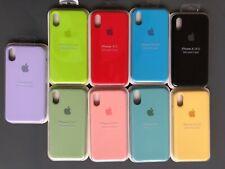 Apple Funda Silicona Colores para Apple iPhone 11 Pro/ 11 / XR / XS/ X //ESPAÑA