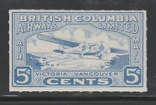 CANADA #CL 44 - BRITISH COLUMBIA AIRWAYS 1928 Semi-Official Air Mail issue