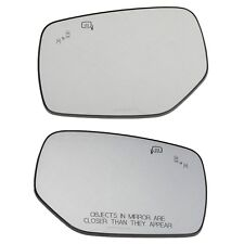 OEM 15-18 Subaru Left & Right Side View Mirror Glass Set Legacy Outback WRX STI