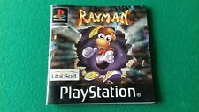 playstation 1 instruction booklet manual rayman