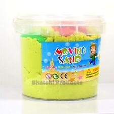 2kg Verde in movimento Magic Sand Beach Stampi per bambini Kids Play Set regalo di compleanno