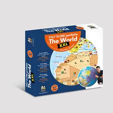 Neu Aufblasbarer GLOBUS Weltkugel Wasserball Erdglobus Ball 85 cm Maxi  XXL !116
