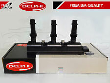 FOR VAUXHALL CORSA D 1.0 12V A10XEP GENUINE DELPHI IGNITION COIL PACK 7 pin 06-
