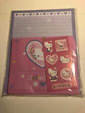 Vintage Sanrio Hello Kitty Stationary Letter Set 2006 Stationery Paper Kawaii