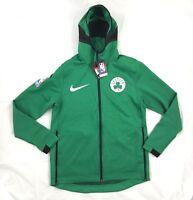 Nike Boston Celtics Therma Flex Showtime Hoodie Green 940114-312 Men's M-3XL