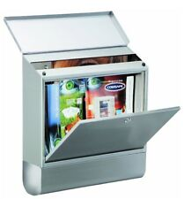 Rottner A4 Villa Special Stainless Steel Large Letter Box Set/Newspaper Holder