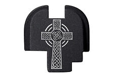 For Springfield Armory XDS 9mm .40 .45 Rear Slide Plate BLK Celtic Cross