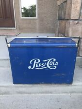 Vintage Pepsi-Cola Slim Cooler Rare Pepsi Cooler