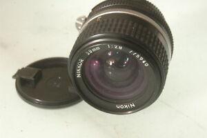 28mm f2.8  nikon  nikkor   AI-S Manual Focus Wide Angle Lens