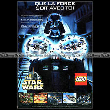 LEGO STAR WARS Dark Vador Darth Vader 1999 - Pub / Original Advert Ad #A1019