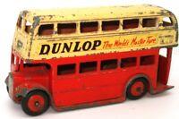 DINKY NO. 29C DOUBLE DECKER BUS - DUNLOP 1954 - RARE - L2