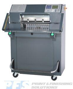 "Challenge Titan 200 Paper Cutter 20"" w/Light Beam & Hydraulic Power - Baumcut"