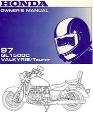 1997 HONDA GL1500C VALKYRIE TOURER MOTORCYCLE OWNERS MANUAL -GL 1500 C-GL1500