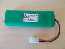 Fullwat 6NHSCJF-RC Ni-MH Battery 7.2V 3000mAh Tamiya Plug RC for Car,Truck,Boat