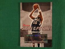 2004 ROMAIN SATO BOWMAN SIGNS OF THE FUTURE AUTOGRAPHED CARD