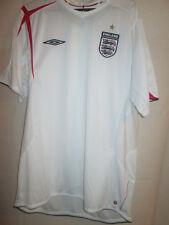 England 2005-2007 Home Football Shirt Xl man chest maglia trikot soccer /14474